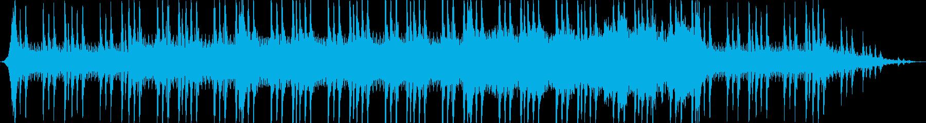 緊迫感のある弦楽曲の再生済みの波形