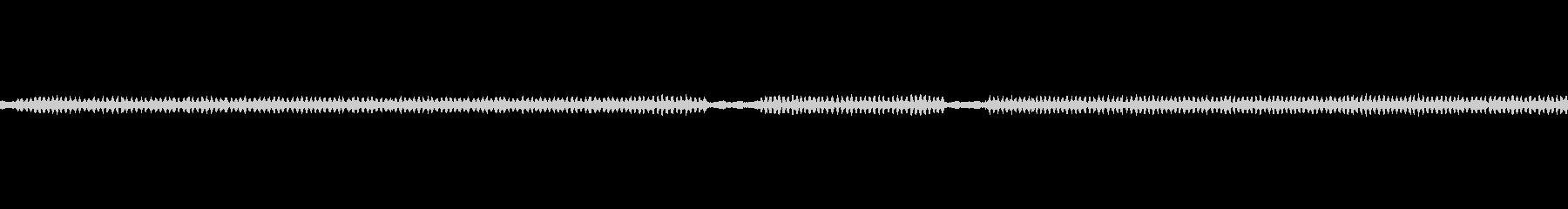 虫の鳴き声1の未再生の波形