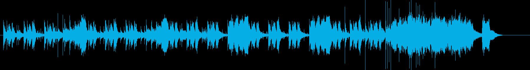 スパイ・潜入捜査風_ピアノxホーンジャズの再生済みの波形