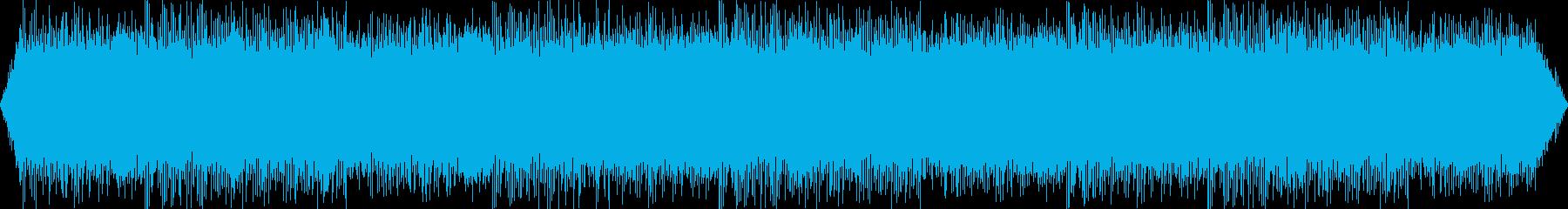 映画フィルムプロジェクター:ランニ...の再生済みの波形