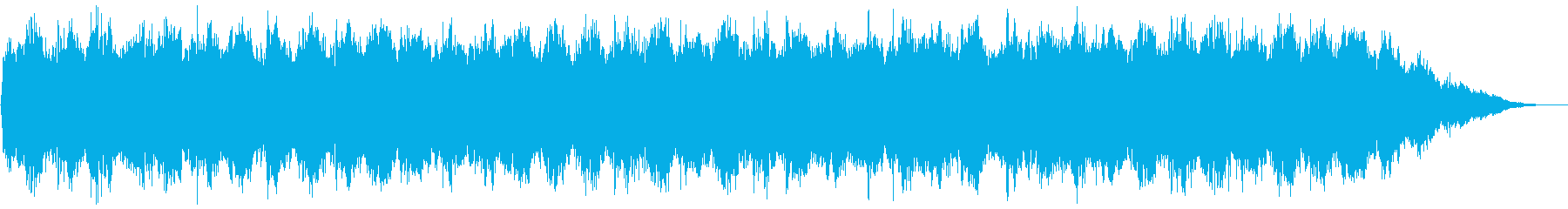 フィールドの背景音などにの再生済みの波形