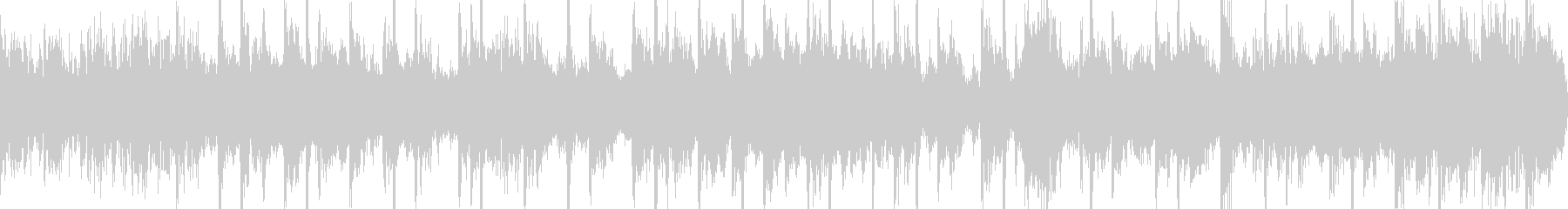 ファンキーで軽快なシンセジングルループの未再生の波形