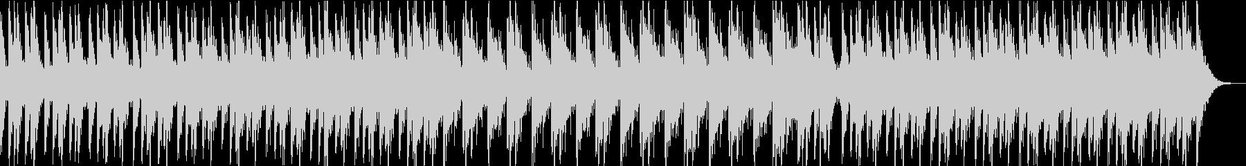 力強くひたすら熱いドラムアンサンブルの未再生の波形