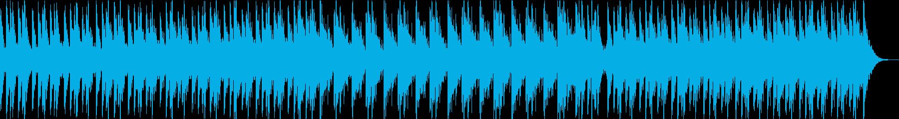 力強くひたすら熱いドラムアンサンブルの再生済みの波形