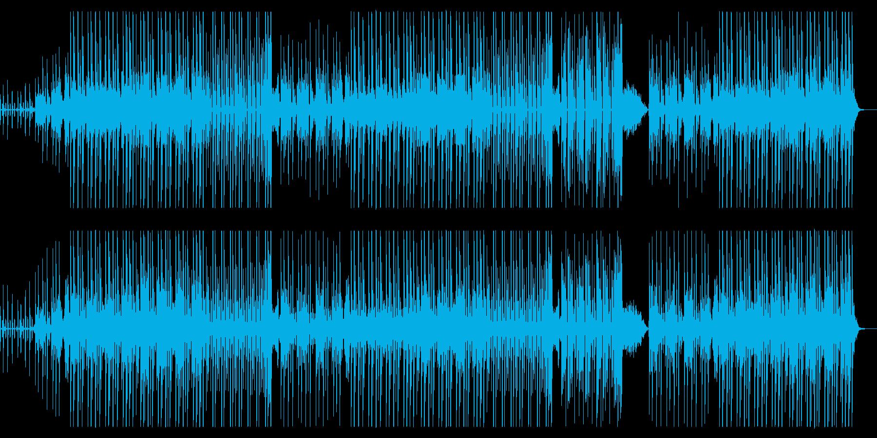 kawaii future bass:1の再生済みの波形