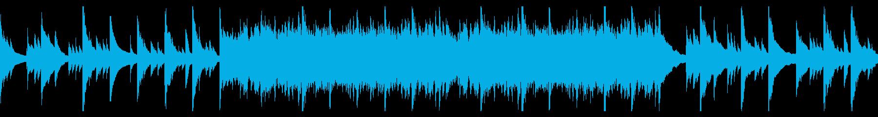 ハープが心地良い癒しのBGM_ループ仕様の再生済みの波形