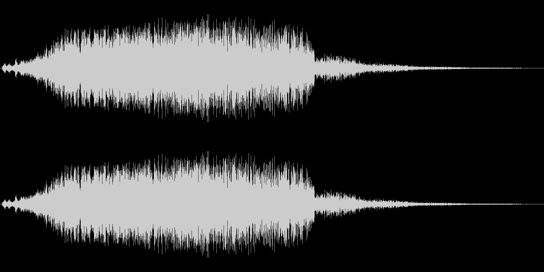 シャララ系_ダウン(UFOやビームの音)の未再生の波形