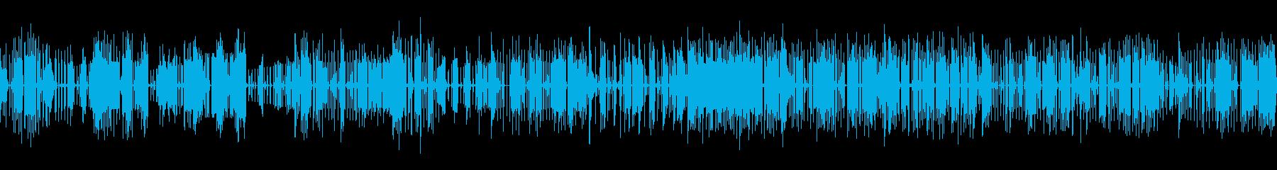 ゲームないで探索している時に流れる音楽の再生済みの波形