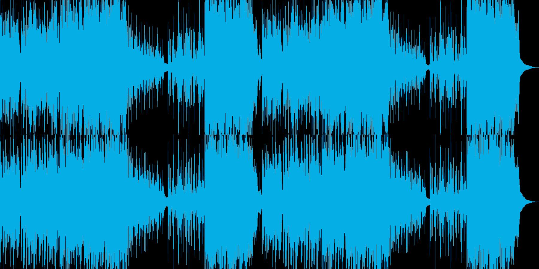 綺麗なピアノとストリングスの再生済みの波形