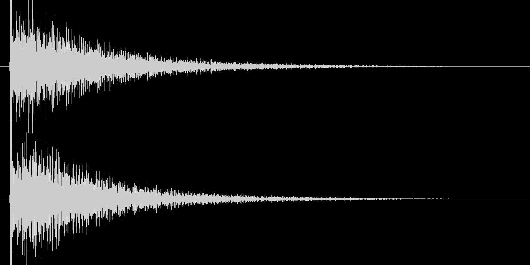 映画告知音3 ドーンの未再生の波形