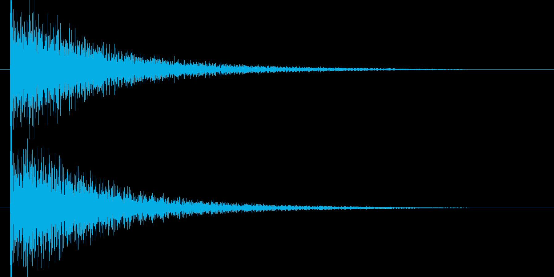 映画告知音3 ドーンの再生済みの波形