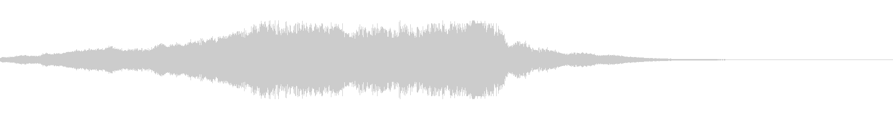 スプラッシュシンボル1お辞儀2の未再生の波形