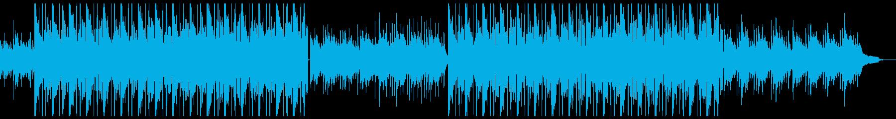 シズル感たっぷりのチル系ヒップホップの再生済みの波形