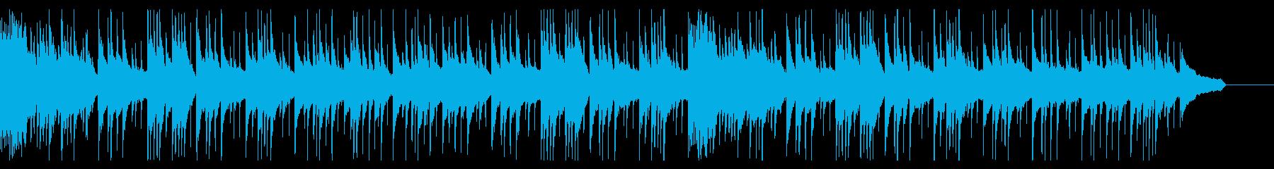 料亭をイメージした和風曲の再生済みの波形