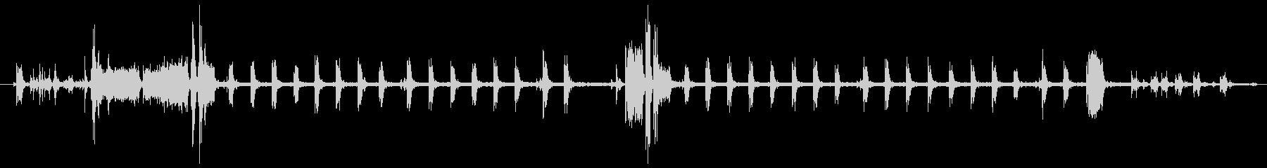 プリンターの印刷音 (room)の未再生の波形