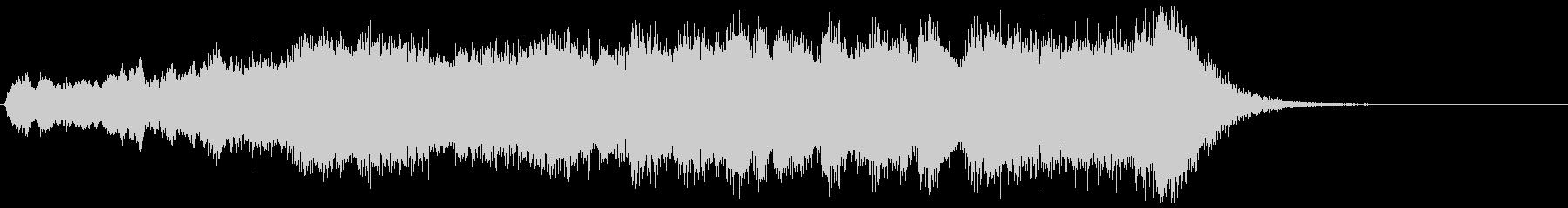 金管カノンが勇壮なフルオケジングル合唱抜の未再生の波形