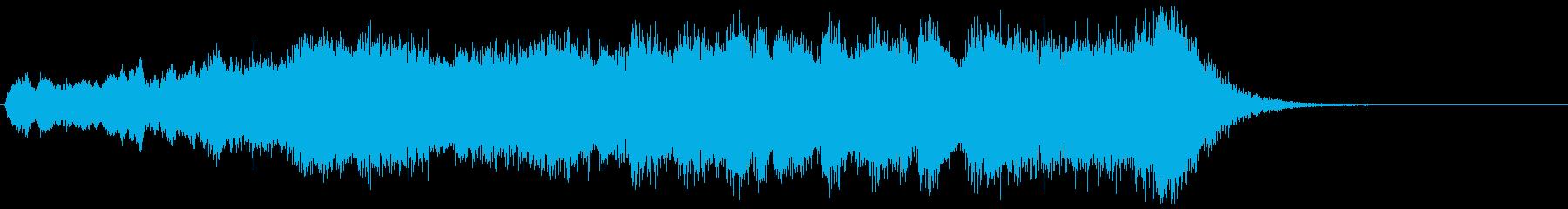 金管カノンが勇壮なフルオケジングル合唱抜の再生済みの波形