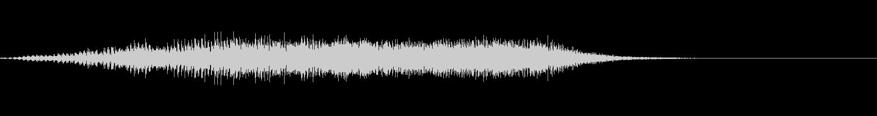 モォ〜♪牛の鳴き声の効果音03の未再生の波形