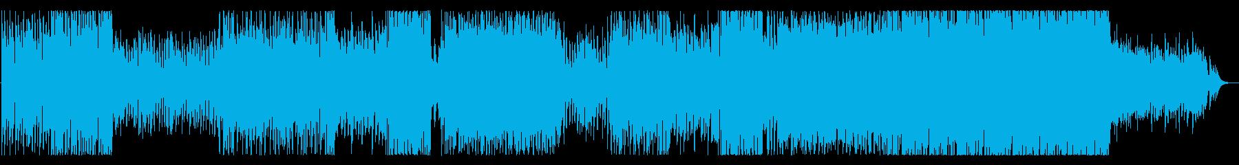 優しくも切ないバラードの再生済みの波形