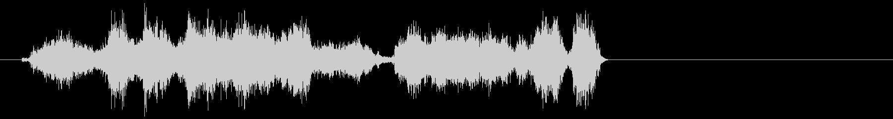 メタルスクレープ;残響のある金属の...の未再生の波形