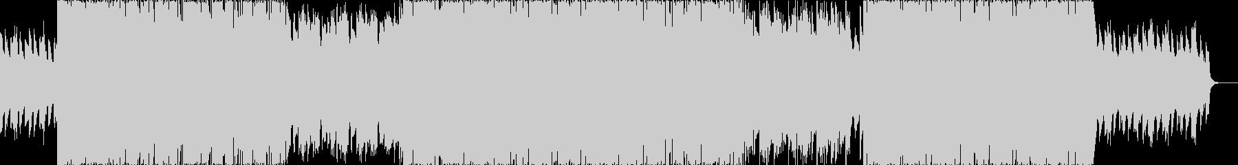 ミディアムテンポで汎用性の高いポップス曲の未再生の波形