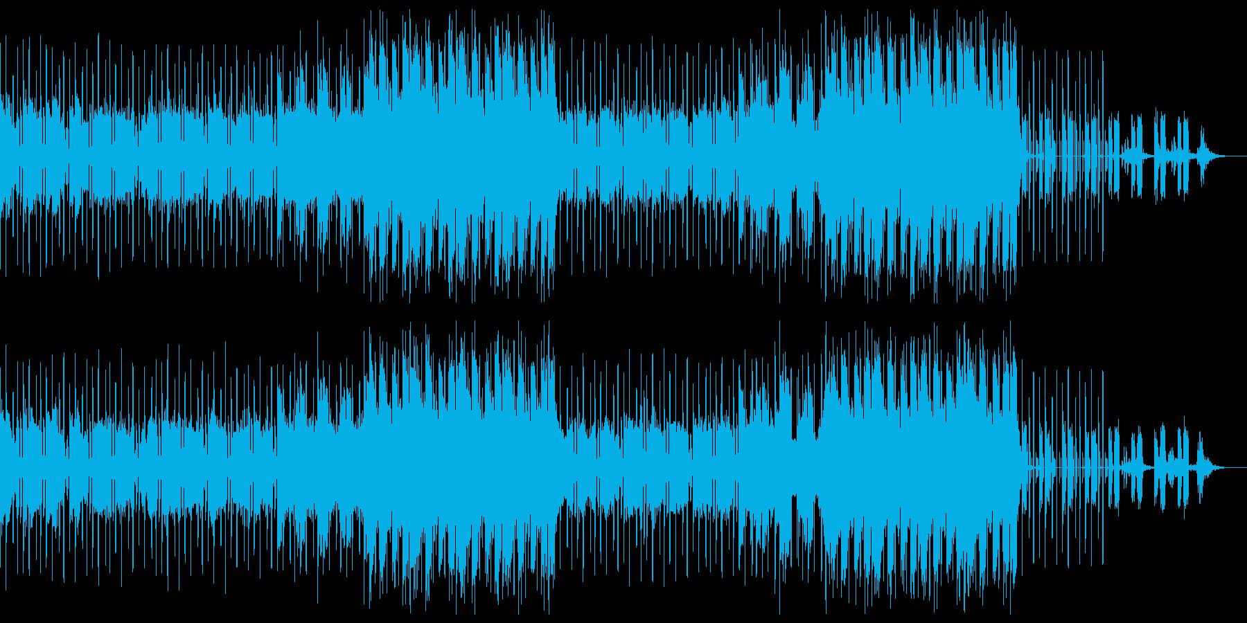 喧嘩バトル アウトロー トラップビートの再生済みの波形