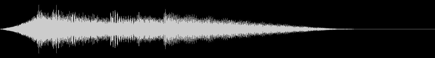 クールなエレピジングルの未再生の波形