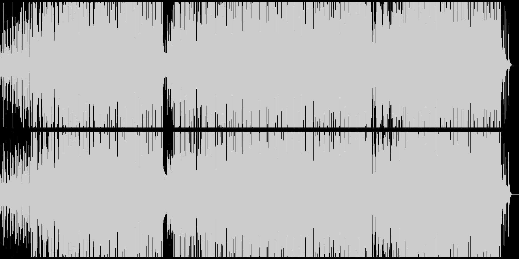 80'S 英語のDiscoミュ-ジックの未再生の波形