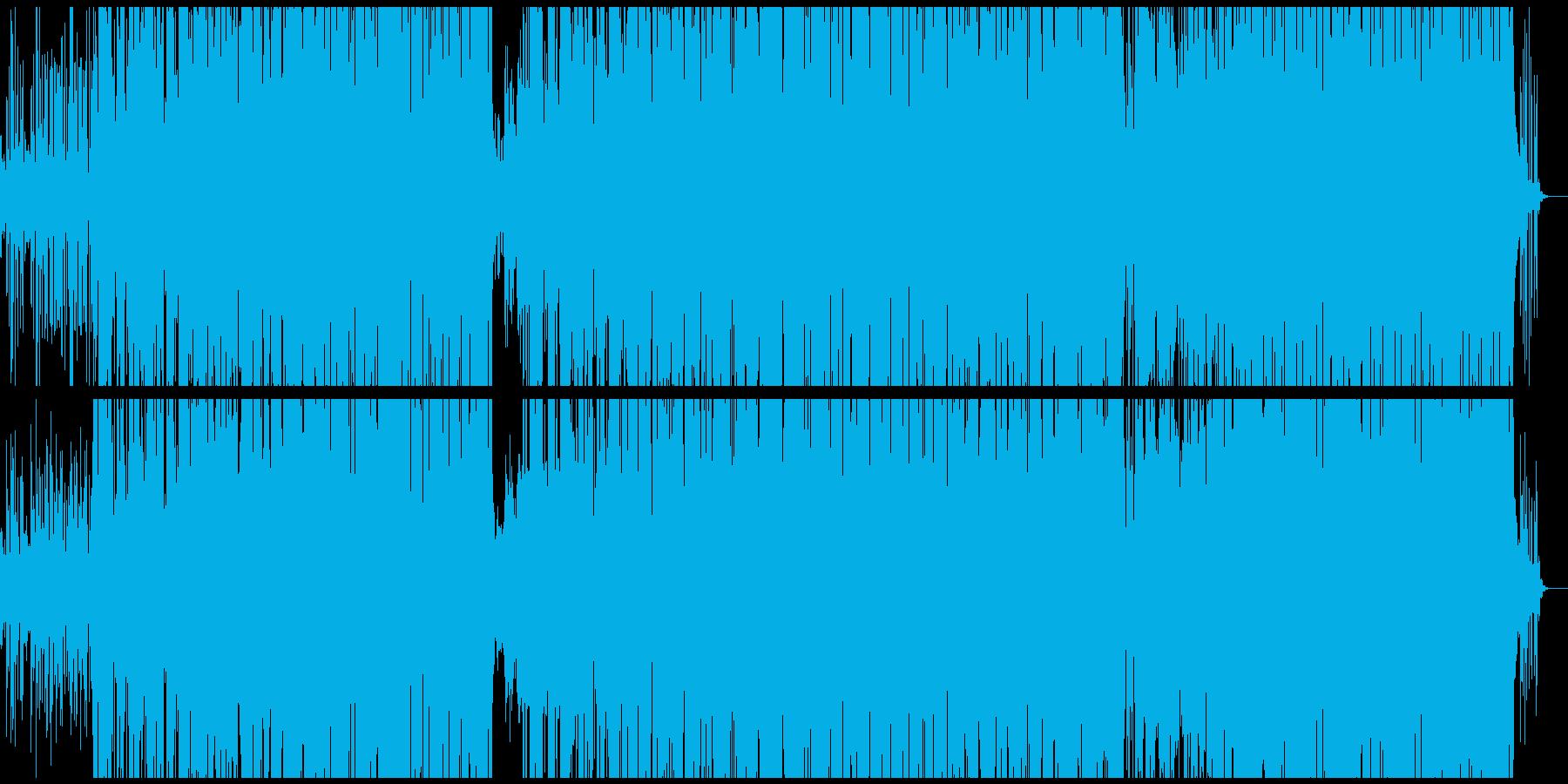 80'S 英語のDiscoミュ-ジックの再生済みの波形