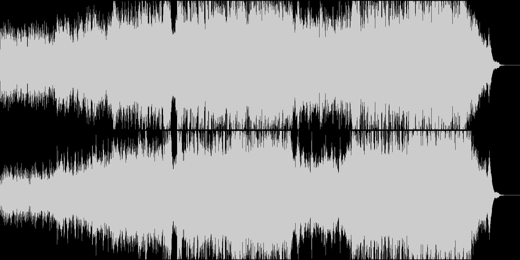 ハリウッド風ピアノ+オケ3TpとTb抜きの未再生の波形