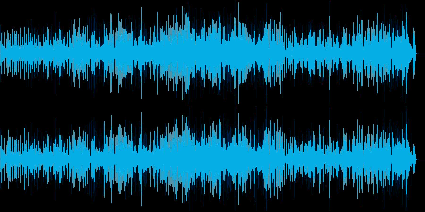 クールでクルージングなジャズトリオ...の再生済みの波形