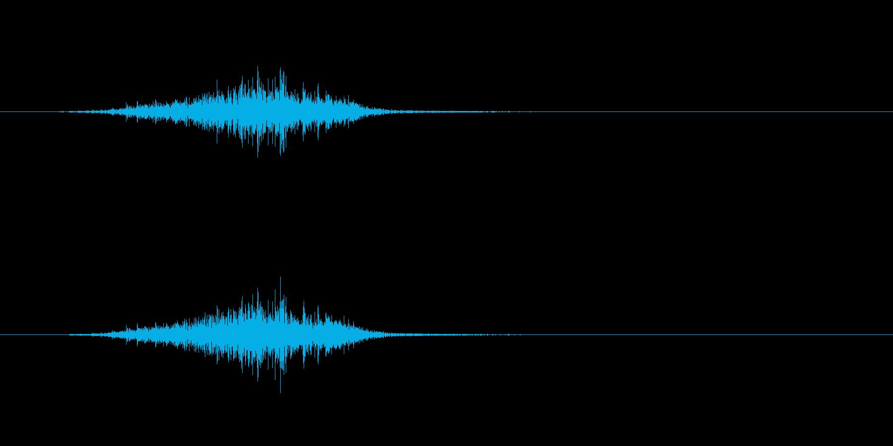 シャベルを地面から引き出すの再生済みの波形