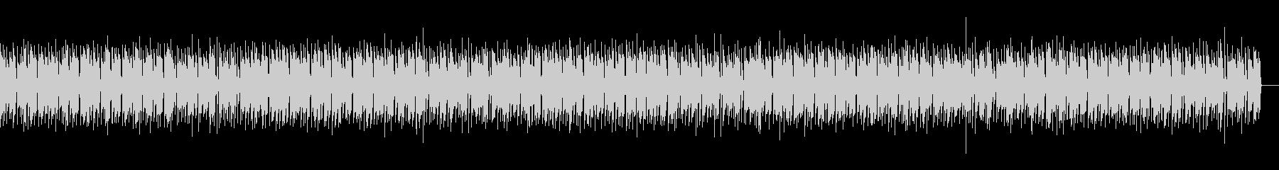 和やかで落ちついたシンプルなエレクトーンの未再生の波形