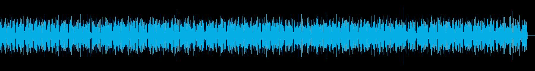 和やかで落ちついたシンプルなエレクトーンの再生済みの波形
