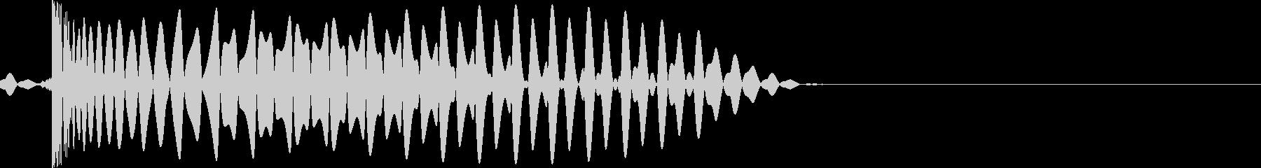 EDMダンス系キー入り【F】キック音ですの未再生の波形