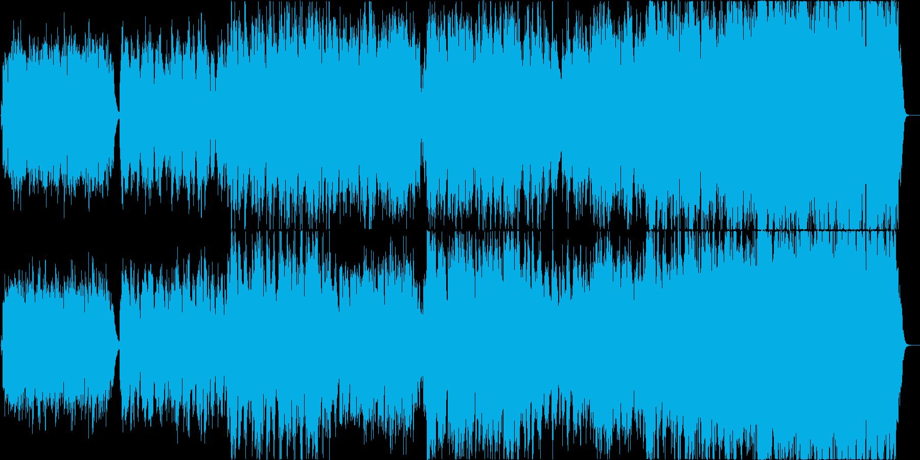 二胡で清らかさを表現した楽曲の再生済みの波形