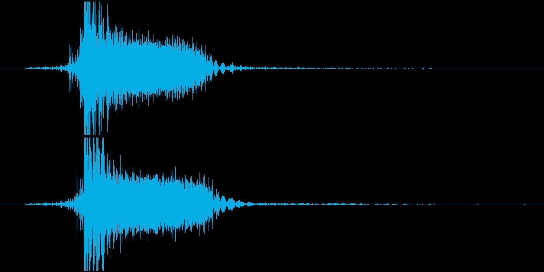 【ゲーム】ヒット_10 ピキーッッッ!!の再生済みの波形