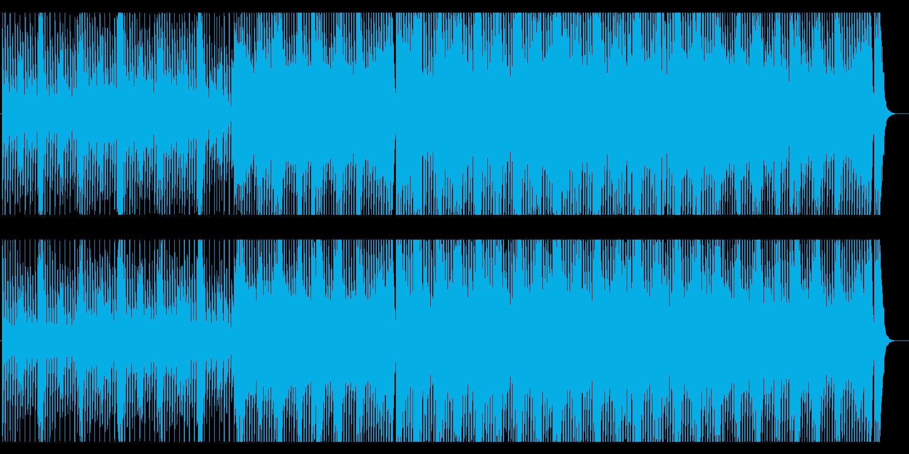 キュート かわいい ポップ わくわくの再生済みの波形