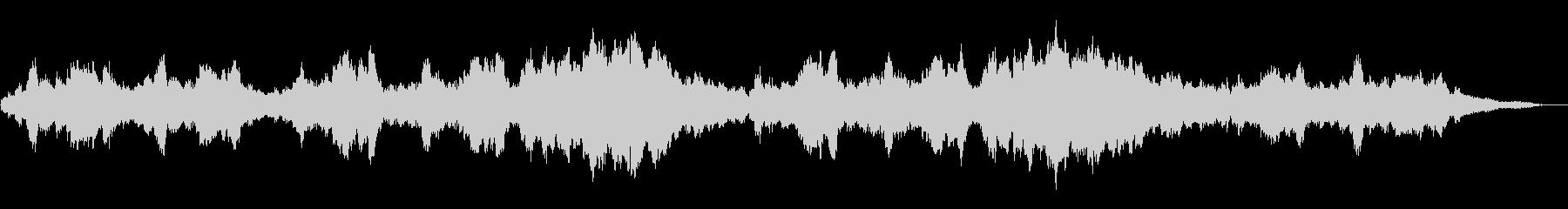 1分で「エリーゼのために」ピアノソロの未再生の波形