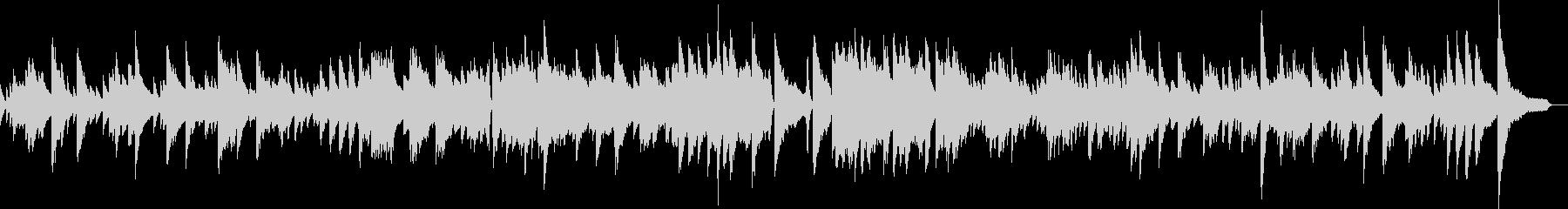 怪しげジャズバラードピアノ生演奏 映像の未再生の波形