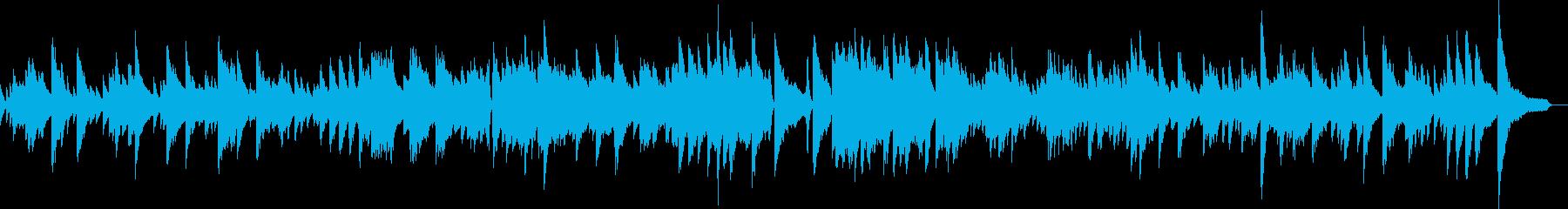 怪しげジャズバラードピアノ生演奏 映像の再生済みの波形