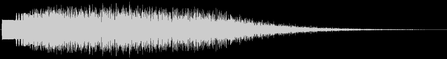 モワワワ・・・という怪音波ですの未再生の波形