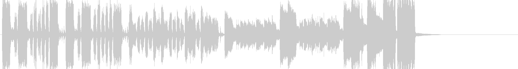 素っ頓狂なアイネクライネナハトムジークの未再生の波形