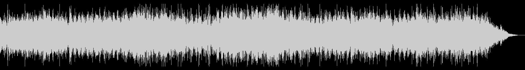 シネマティックなアンビエントIDMの未再生の波形