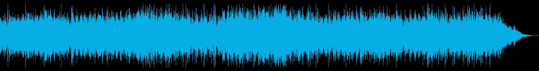 シネマティックなアンビエントIDMの再生済みの波形