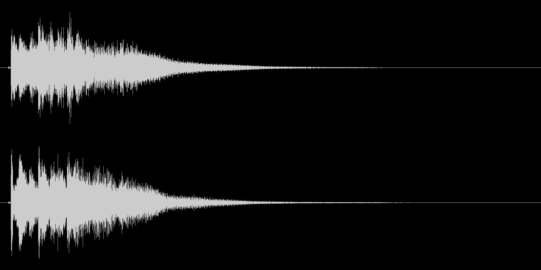 琴のフレーズ1☆調律2☆リバーブ有の未再生の波形