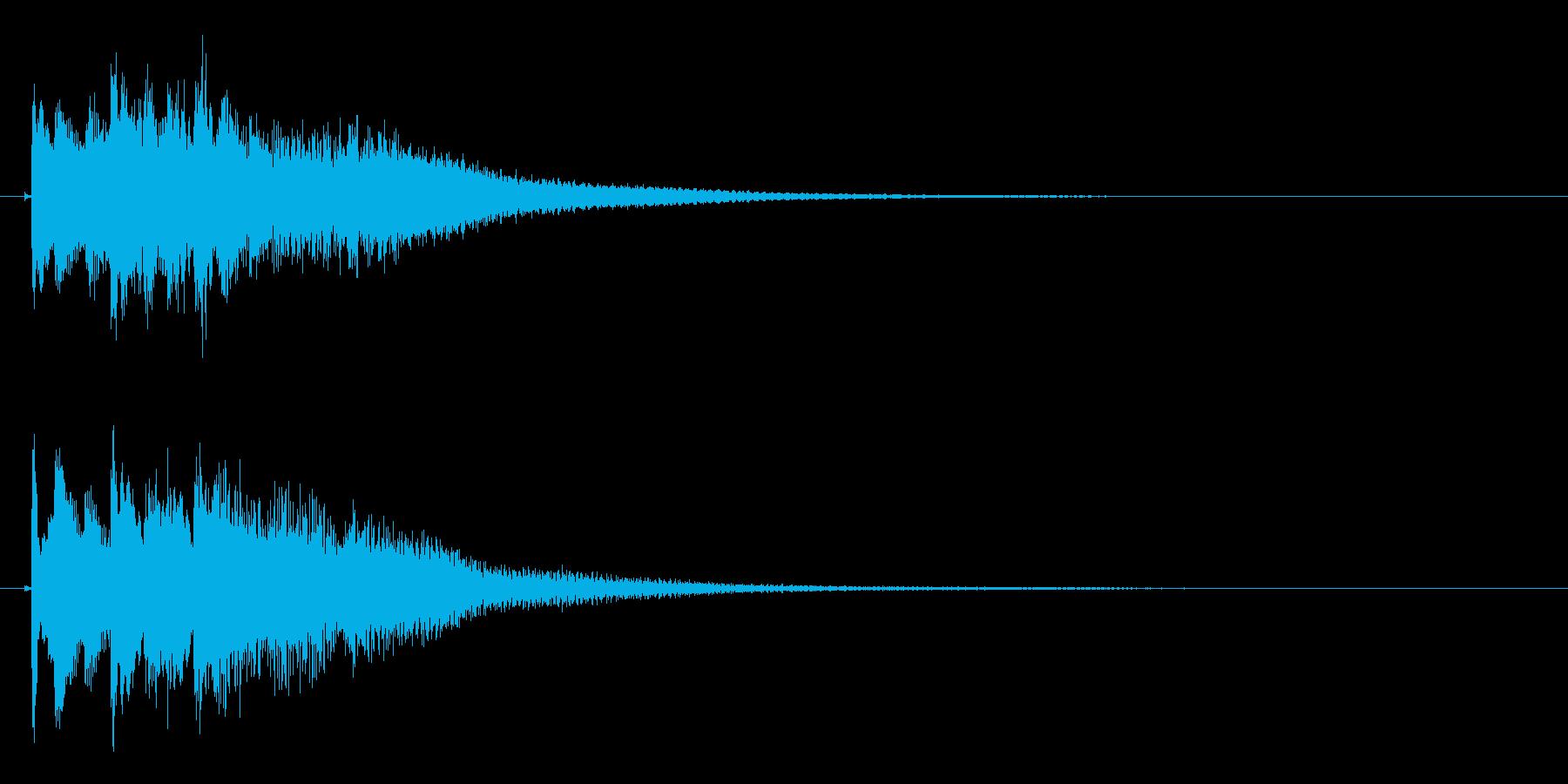 琴のフレーズ1☆調律2☆リバーブ有の再生済みの波形