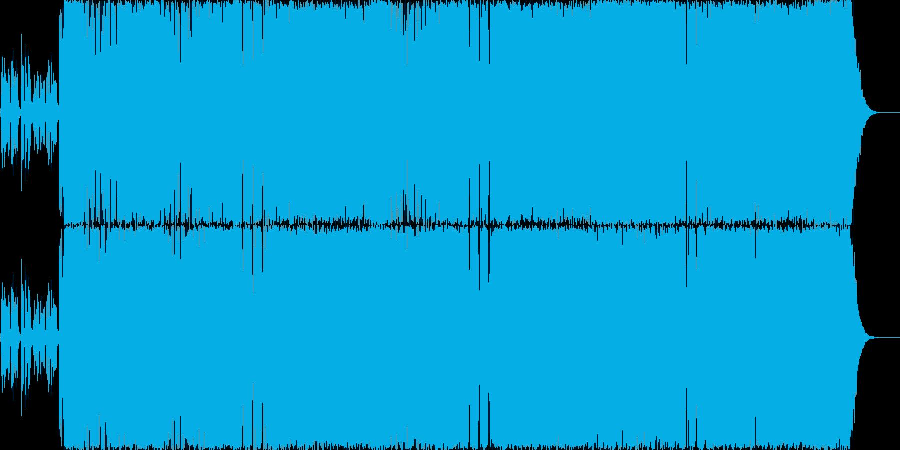 女性Vo.爽やかギターポップロック!の再生済みの波形