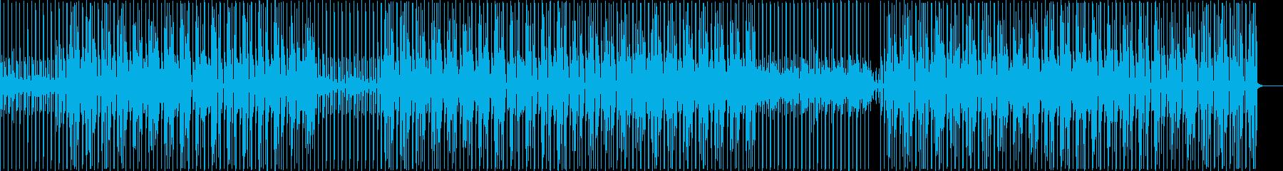 ホップ 跳ねる ジャンプ キュートの再生済みの波形