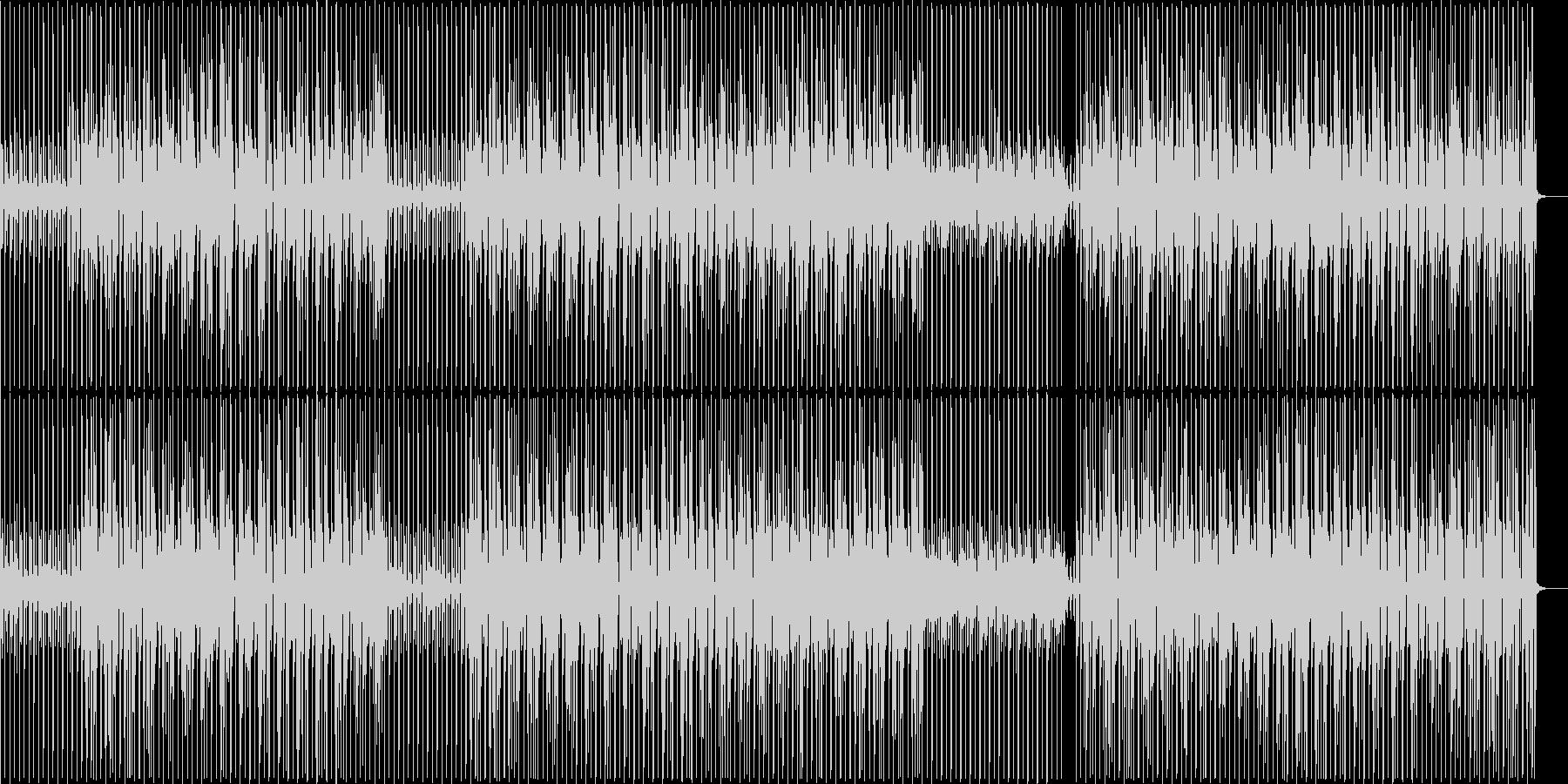 ホップ 跳ねる ジャンプ キュートの未再生の波形